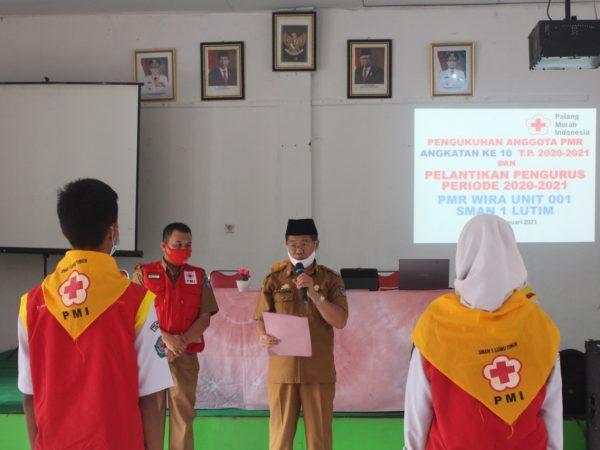 Pelantikan Pengurus PMR WIRA UNIT 001